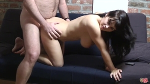 Nailed rough with too cute amateur