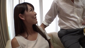 Rough nailing with hairy japanese stepmom