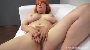 Goes wild on cock at the castings