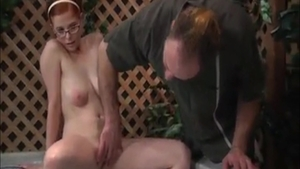 Homemade the best sex alongside very small tits redhead