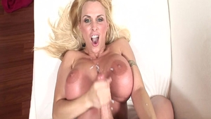 MILF Holly Halston toys action sex video HD
