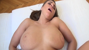Creampied XXX video starring huge boobs POV Josephine Jackson