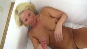 Very hot czech blonde first time sex with toys