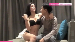 BDSM in company with chinese girl