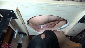 Femdom in toilet along with mistress Emma Night