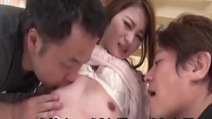 Masturbation escorted by japanese hotwife