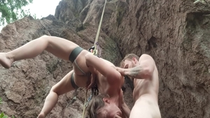 Hardcore nailing with big ass couple