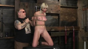 Blonde haired Marie Mccray fetish BDSM