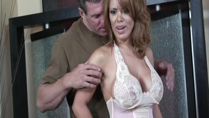 Large tits super sexy latina housewife hard doggy sex